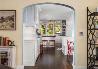 Seattle Craftsman Kitchen